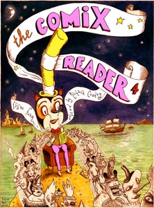 Image of The Comix Reader: Issue 4