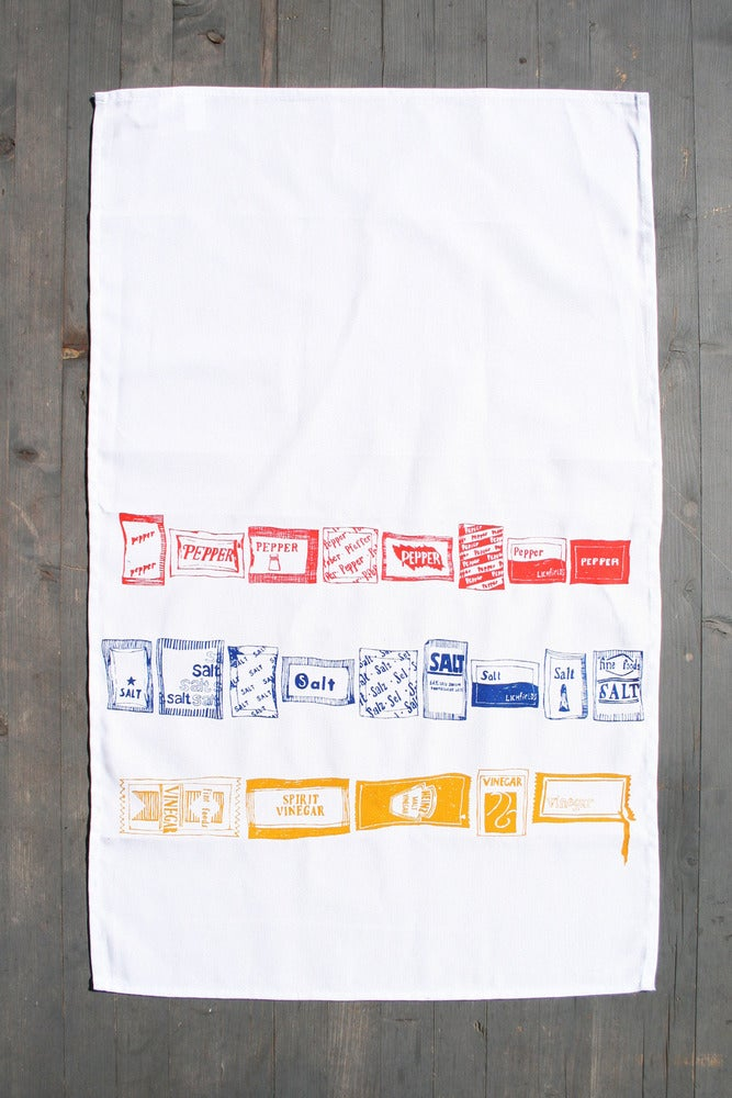 Image of Salt 'n' Pepper - Sachet Tea Towel