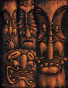 Image of Wall of Tiki 2