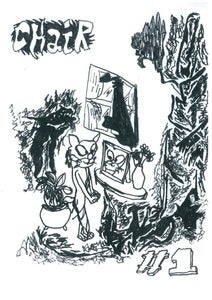 Image of CHAIR fanzine (issue one)