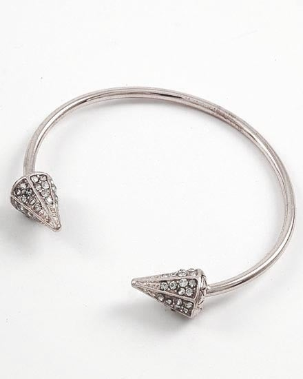 Image of Arrow Pave Diamond Cuff Bracelet