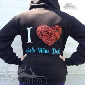 Image of NEW Unisex Absolute Klothing x Girls Who Dab Hoodie