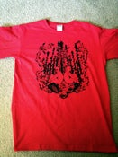 Image of Cara Neir 'Red Moon Foreboding' T-Shirt