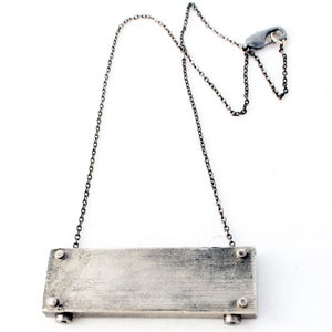 Image of medium horizontal necklace - SHORT