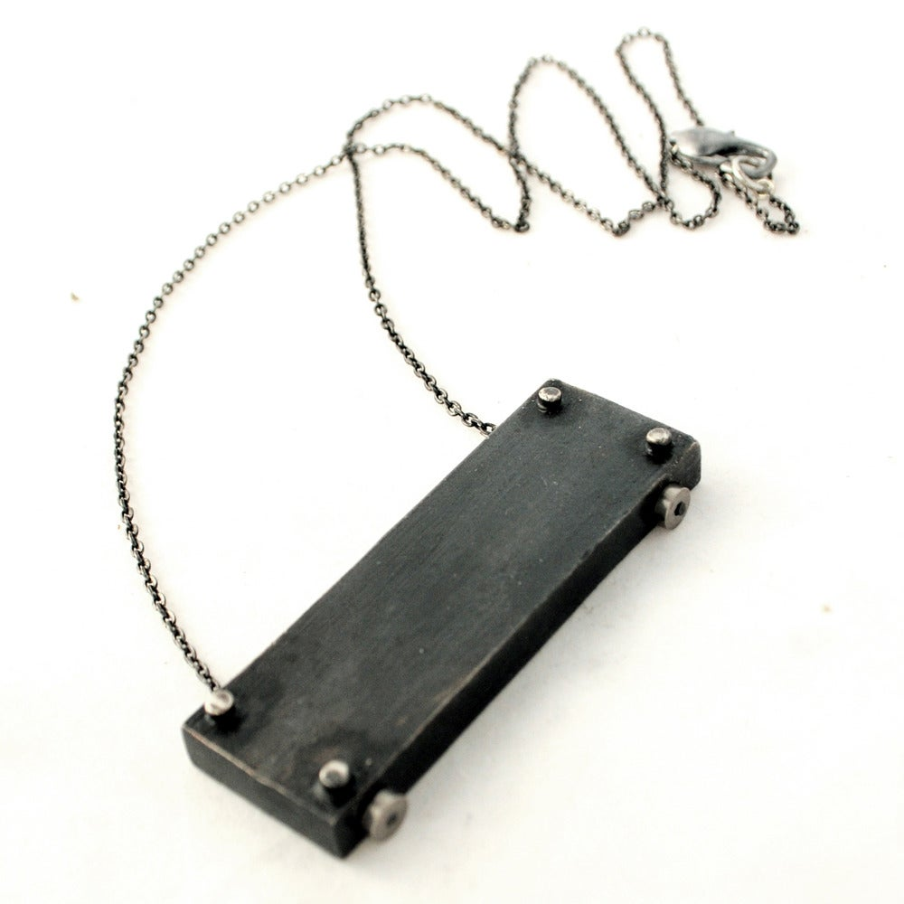 Image of medium horizontal necklace - LONG