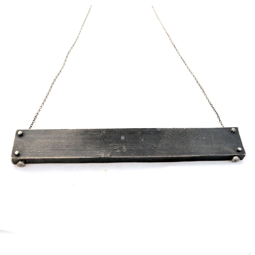 Image of large horizontal necklace