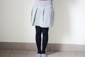 Image of Monochrome Skirt