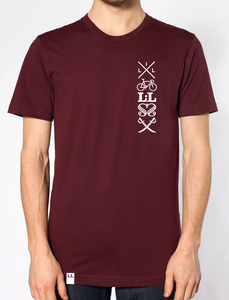 Image of LESS is LESS Logo Salat Shirt