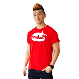 Image of ABUDEN?! Statement Tee (Red) UNISEX