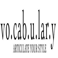 vocabulary boutique