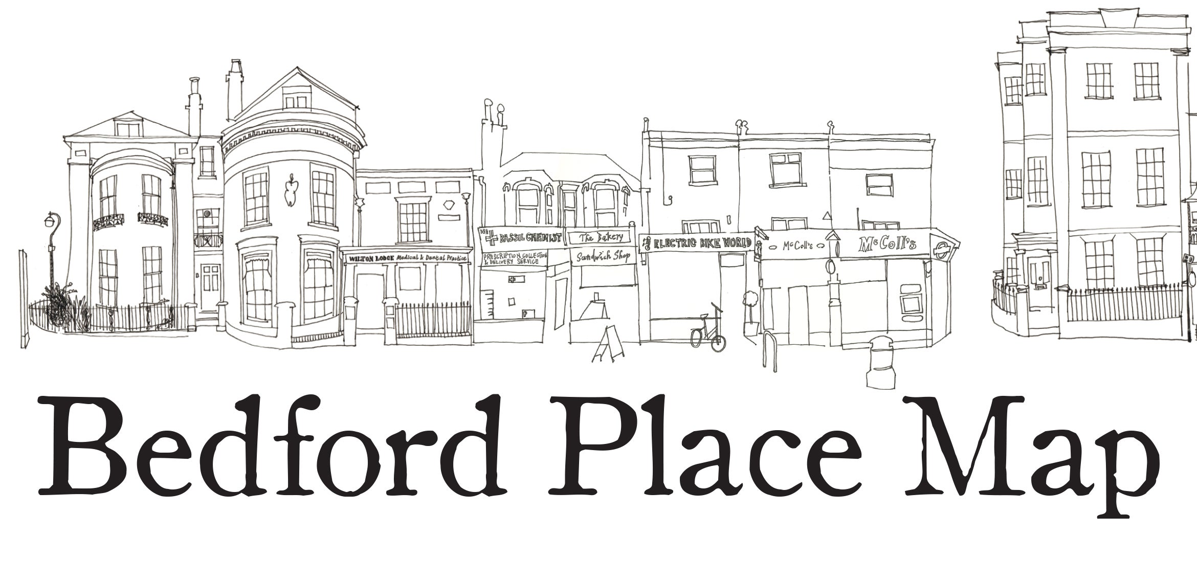 Bedford place map jj fish n chips bengal brasserie for Jj fish and chips