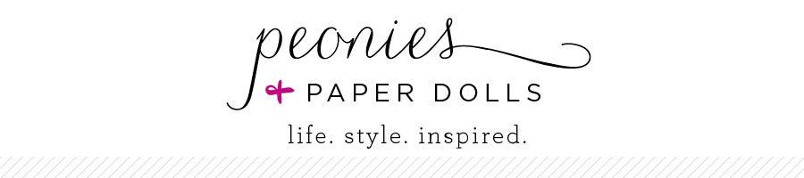 Peonies & Paper Dolls