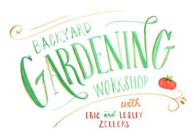 backyard garden workshop