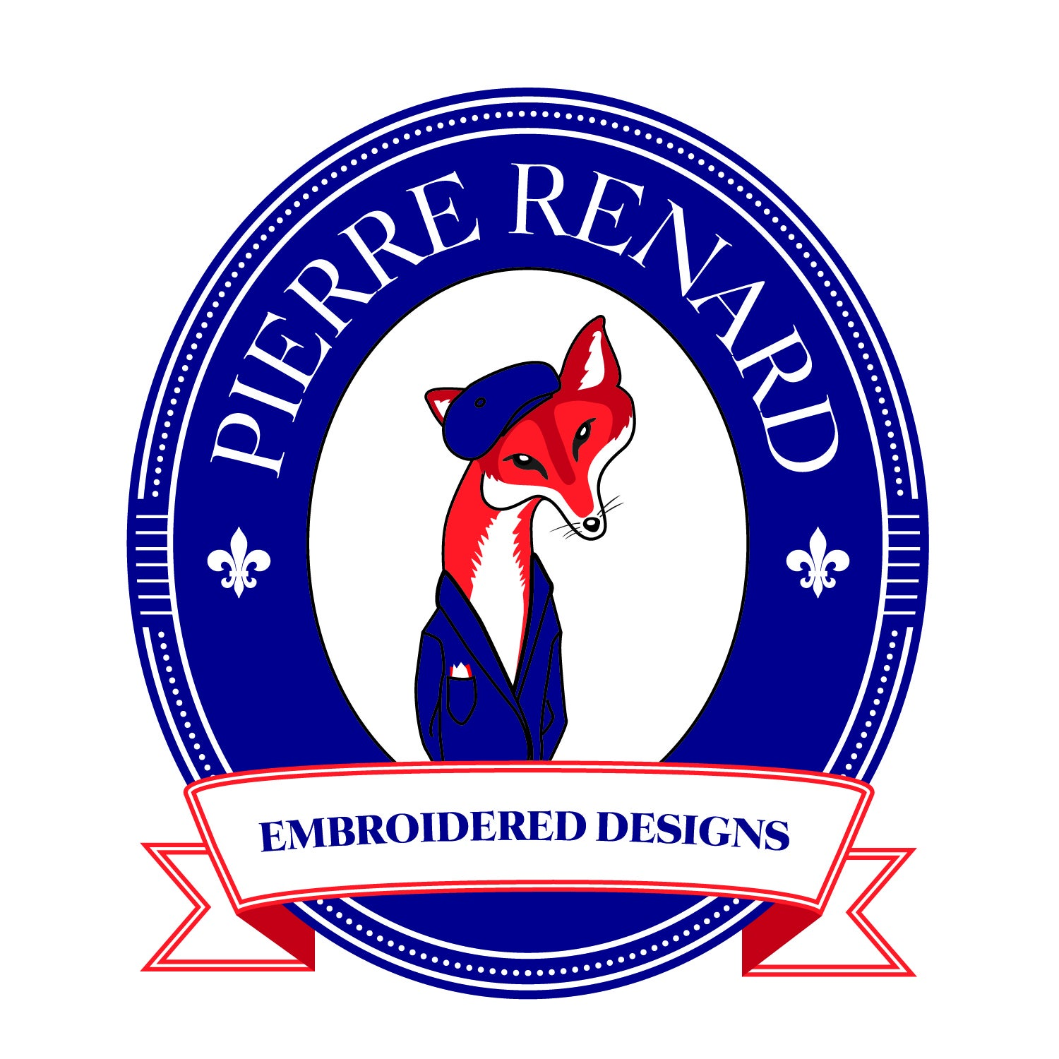 Pierre Renard Embroidered Designs