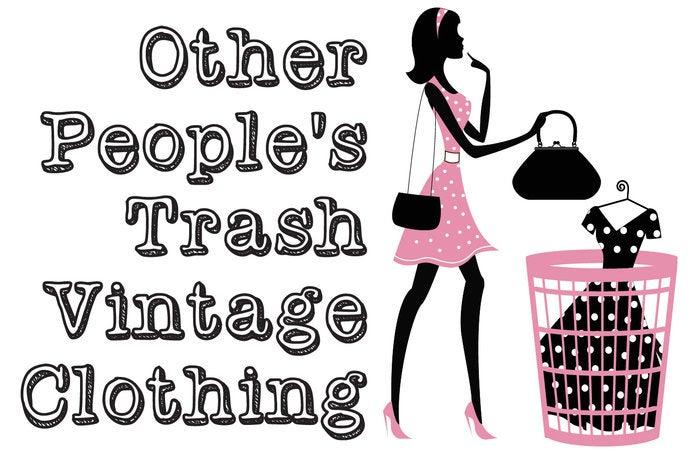 other s trash vintage clothing home