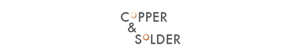 copper and solder