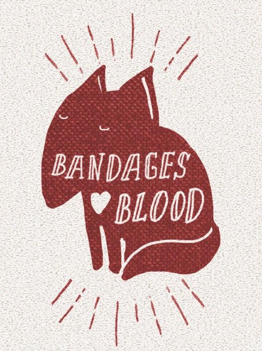 bandages love blood