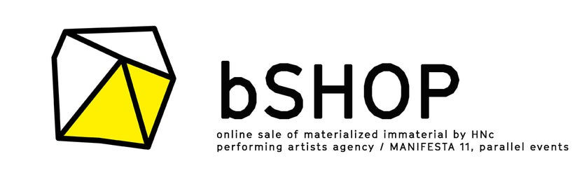bSHOP - online sale of materialized immaterial by HNc