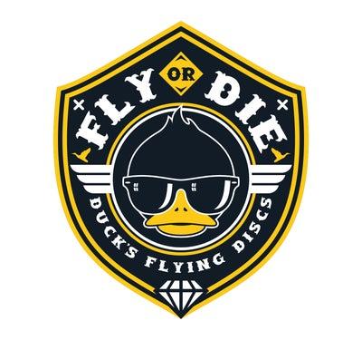 Ducks Flying Discs