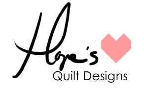 Hope's Quilt Designs