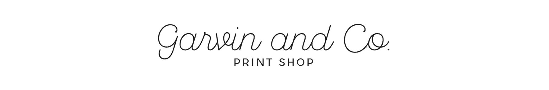 Garvin and Co. Print Shop