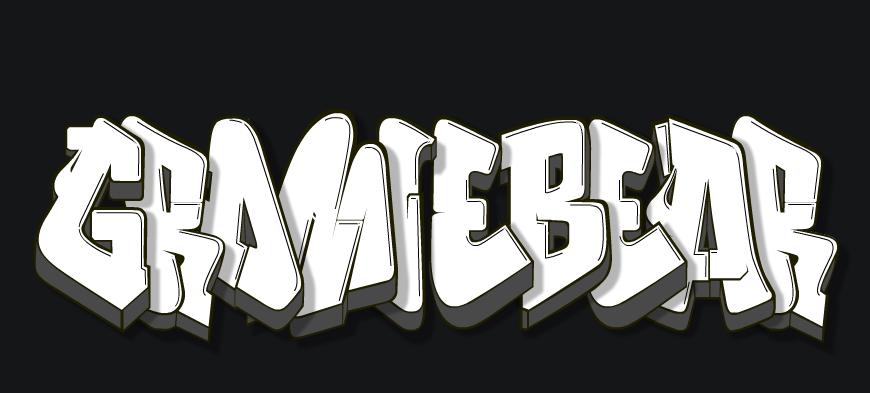 Gromie Bear — Gromie Bear Sticker Logo