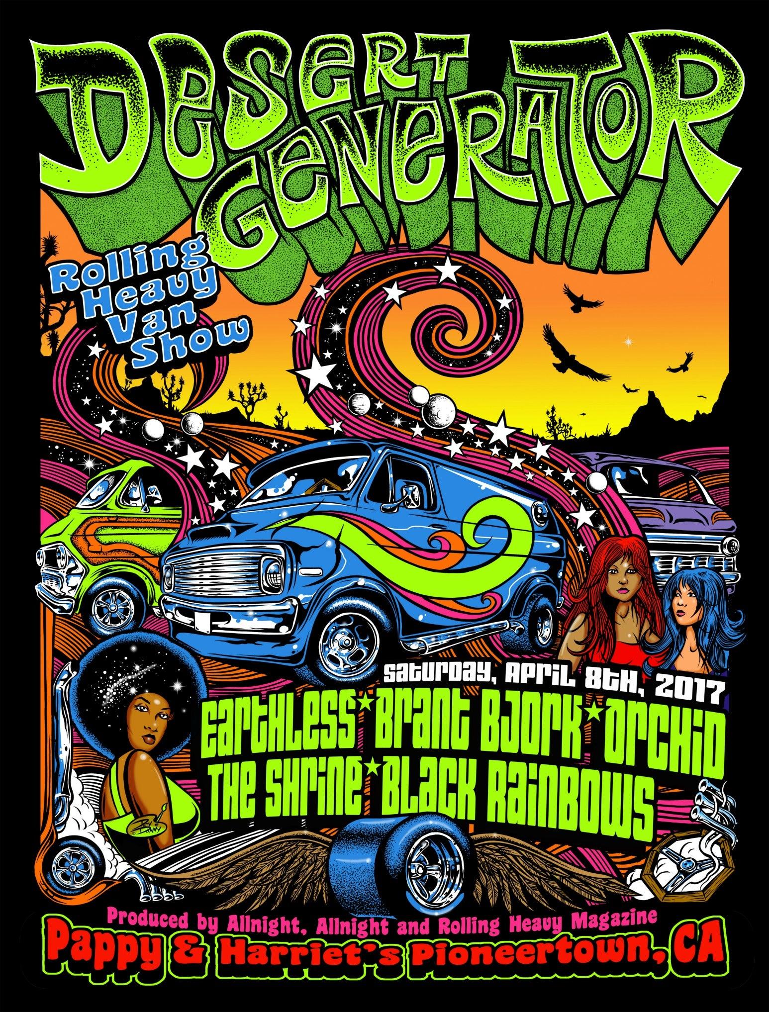 Poster design generator - Desert Generator