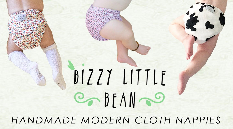 Bizzy Little Bean - Modern Cloth Nappies