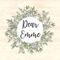 Dear Emme