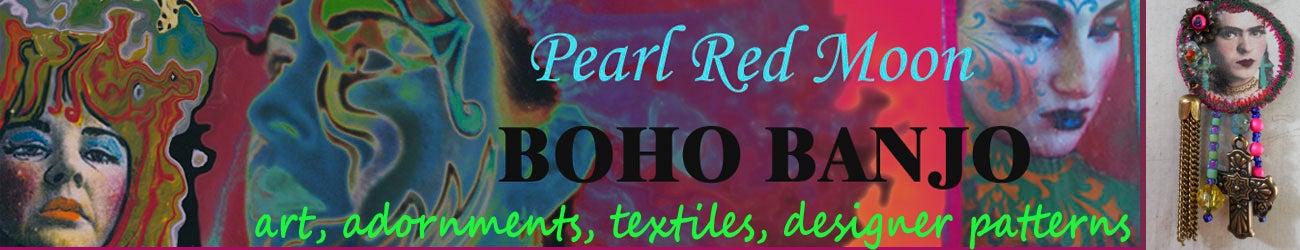Boho Banjo art to wear