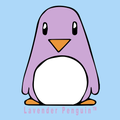 Lavender Penguin