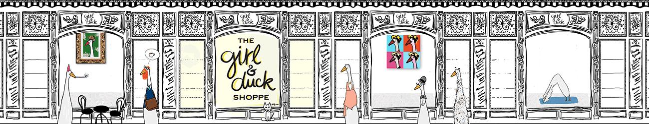 The Girl and Duck Shop