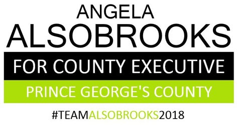 Angela Alsobrooks for County Executive in Prince George's County