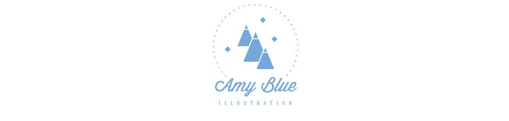 Amy Blue Illustration