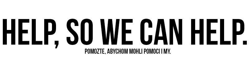 Help, So We Can Help.