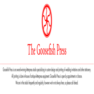 Goosefish Press