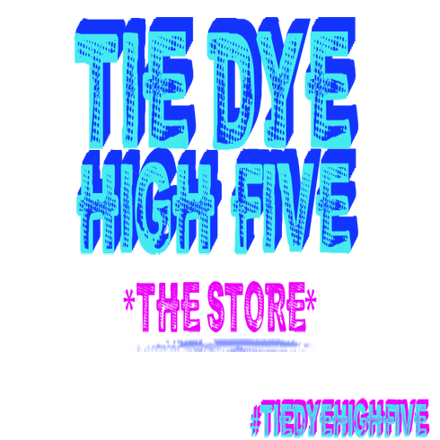 Tie Dye High Five
