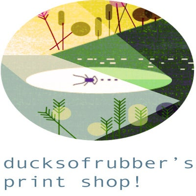 ducksofrubber art shop!