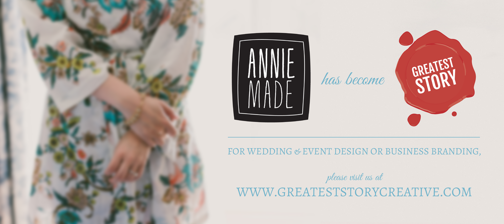 anniemade / Greatest Story Creative