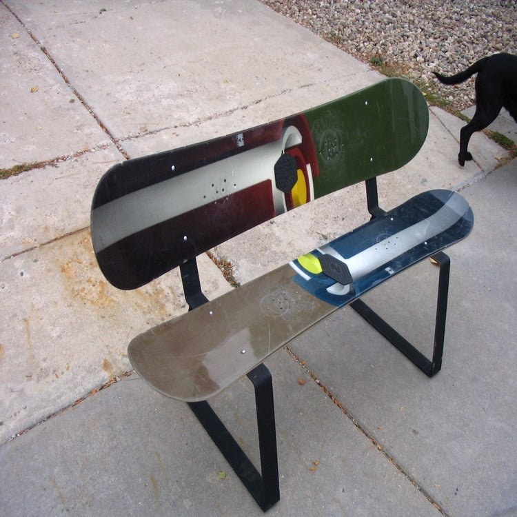 "Wakeboards For Sale >> The Steel Edge — The Steel Edge ""Snowboard and Ski Bench ..."