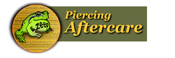 Zeep Piercing Aftercare