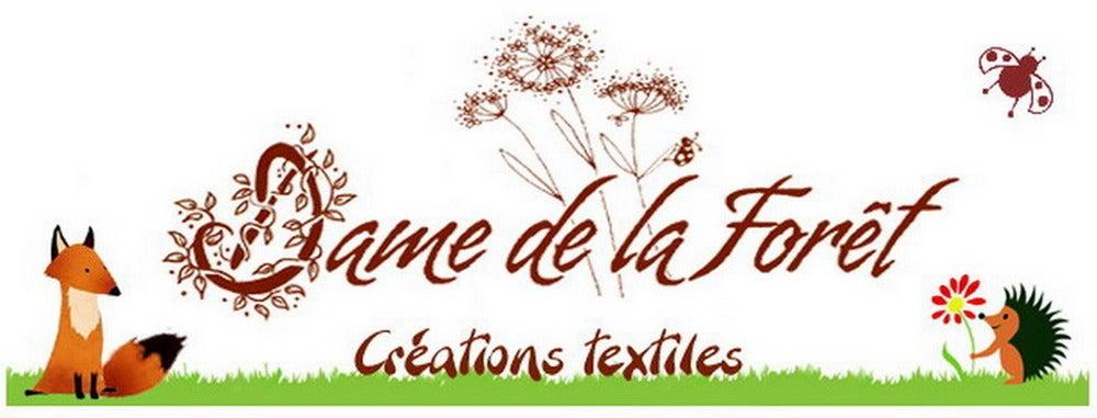 Dame de la Forêt - Créations textiles