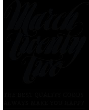 MarchTwentyTwo Store
