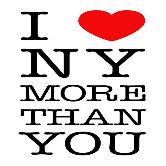 I love NY more than YOU