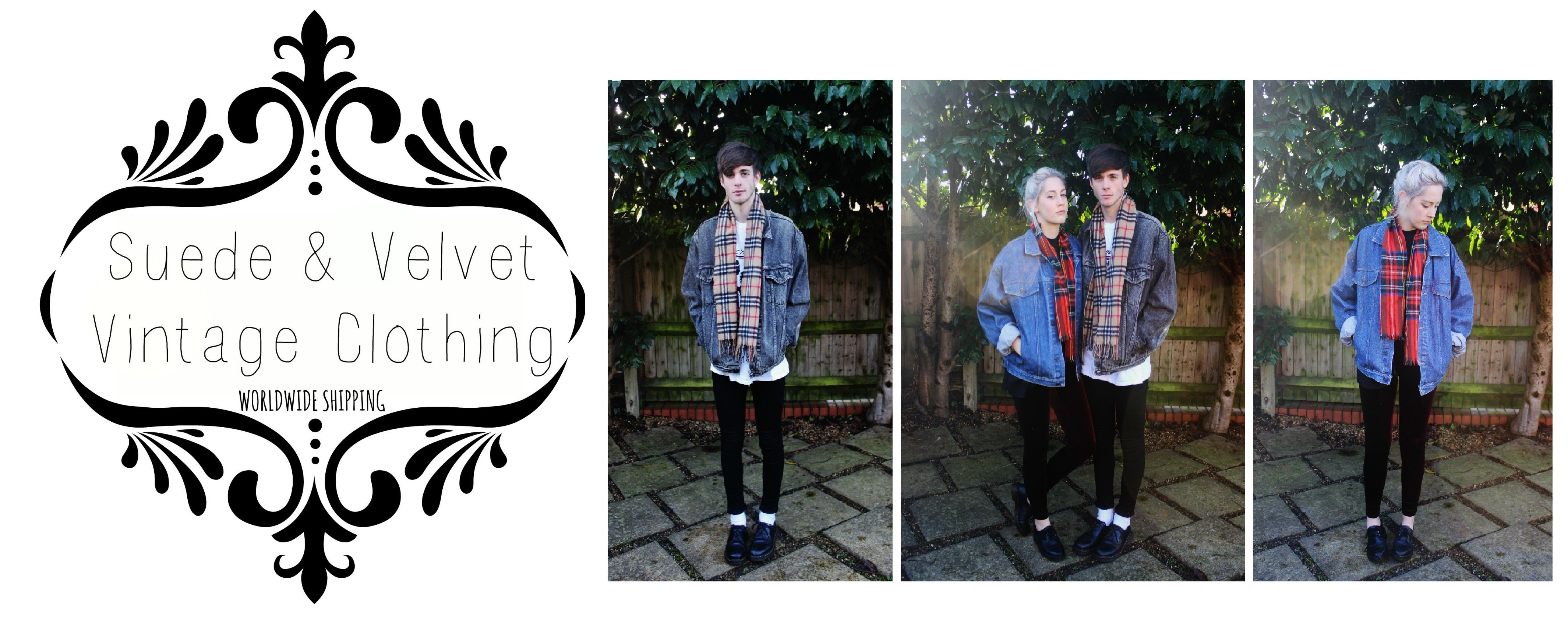 Suede & Velvet Vintage Clothing