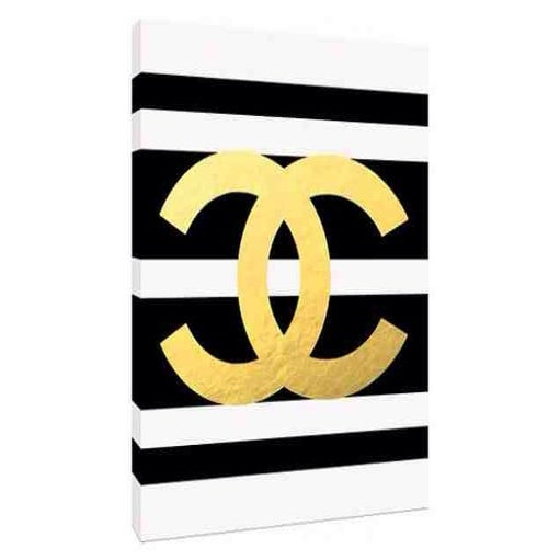 Lux Decor and Spreads — Chanel #5 Shower Curtain